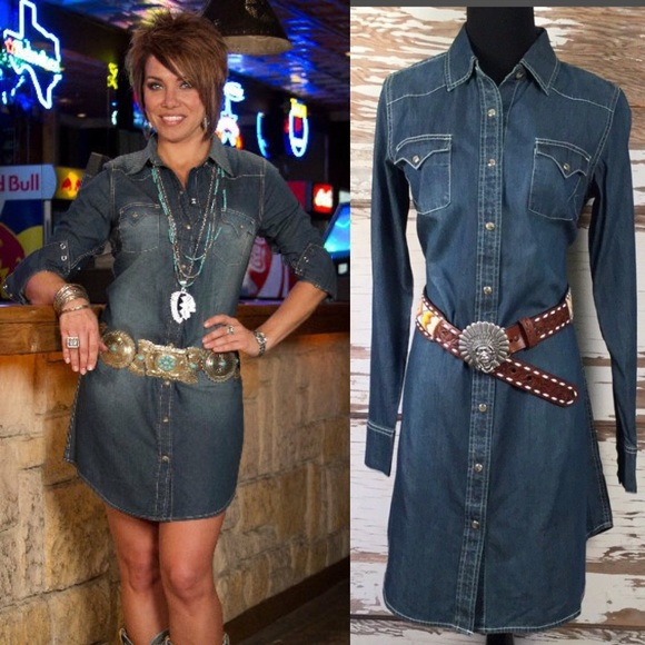 5 Rated Cowgirl Justice Denim Dress Boutique